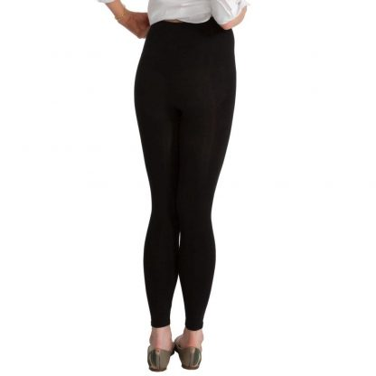 Spanx Look-At-Me Leggings High-Waisted Cotton Leggings