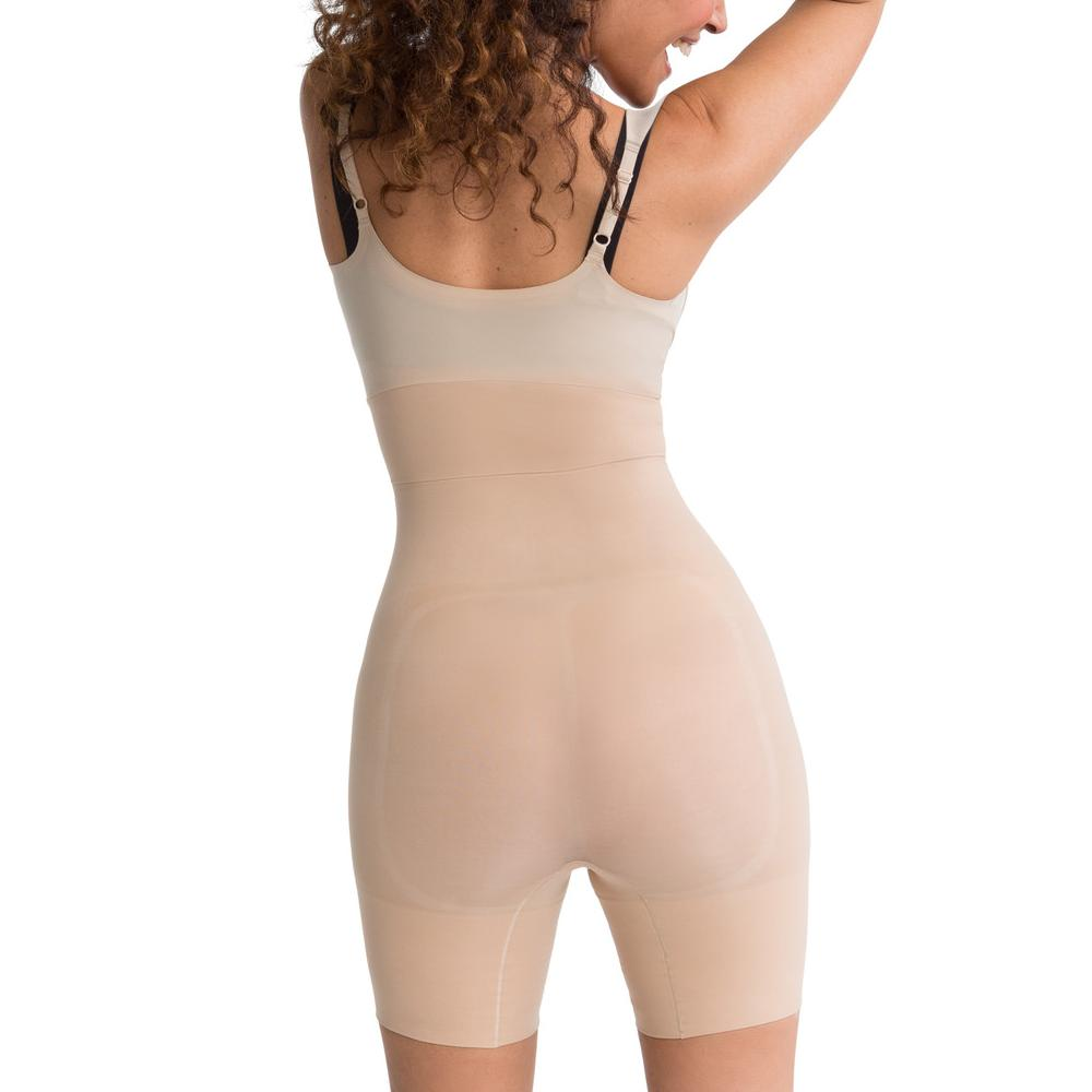 Spanx Shape My Day Open-Bust Mid-Thigh Body